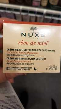 NUXE - Rêve de miel - Crème visage nuit ultra-réconfortante