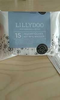 Lillydoo - 15 feuchttücher mit 99% wasser