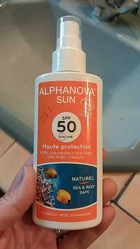 ALPHANOVA - Sun - Haute protection SPF 50 UVa UVB