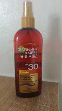 GARNIER - Ambre solaire - Huile ambrée protectrice FPS 30