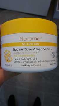 FLORAME - Baume riche visage & corps
