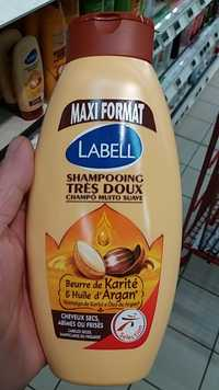 LABELL - Maxi format - Shampooing très doux