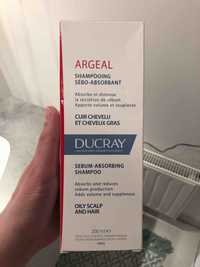 DUCRAY - Argeal - Shampooing sébo-absorbant