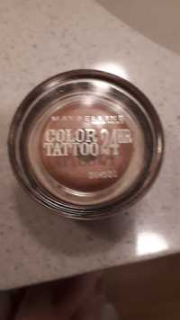 Maybelline - EyeStudio - Color tattoo 24h 65 pink gold