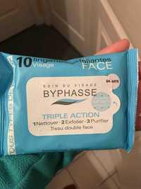 BYPHASSE - Triple action - Lingettes exfoliantes