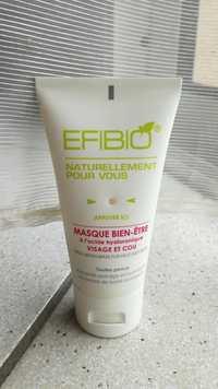 EFIBIO - Masque bien-être à l'acide hyaluronique