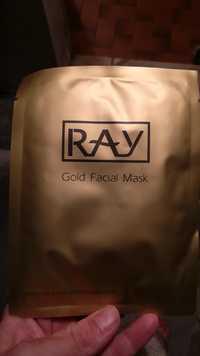 RAY - Gold facial mask