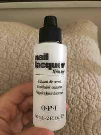 O.P.I - Nail lacquer thinner