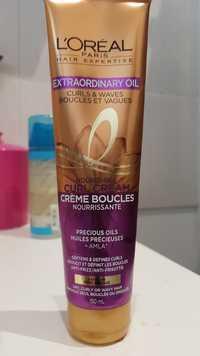 L'ORÉAL - Hair expertise extraordinary oil - Crème boucles nourrissante