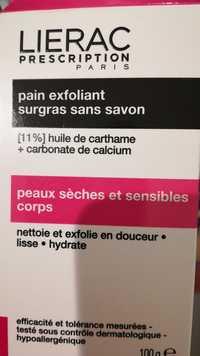 LIÉRAC - Pain exfoliant surgras sans savon