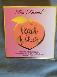 TOO FACED - Peach my cheeks - Melting powder blush