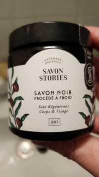 SAVON STORIES - Savon noir procédé à froid - Soin régénérant