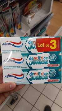 AQUAFRESH - Dentifrice junior 6-8 ans