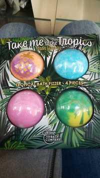 THE BATH COMPANY - Take me to the tropics - Bath fizzers