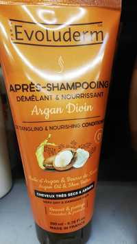 EVOLUDERM - Argan divin - Après-shampooing
