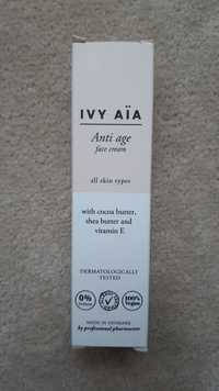 IVY AÏA - Anti age face cream