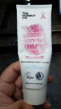 THE HUMBLE CO. - Strawberry mint flavour - Pink toothpaste