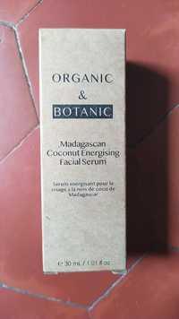 ORGANIC & BOTANIC - Sérum énergisant pour le visage à la noix de coco de Madagascar