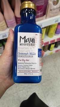 MAUI MOISTURE - Nourish & moisture + coconut milk - Conditioner