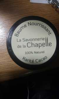 La Savonnerie de la Chapelle - Karité cacao - Baume Nourrissant