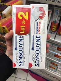 Sensodyne - Sensibilité & gencives blancheur - Dentifrice