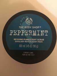 THE BODY SHOP - Peppermint - Exfoliant revitalisant pieds