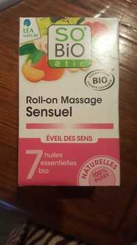 SO'BIO ÉTIC - Eveil des sens - Roll-on massage sensuel