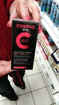 Cosmia - Men crème anti-âge 4 en 1
