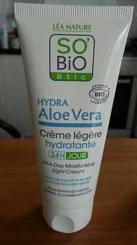 SO'BIO ÉTIC - Hydra Aloe Vera - Crème légère hydratante bio