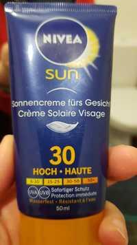 Nivea - Sun - Crème solaire visage SPF 30