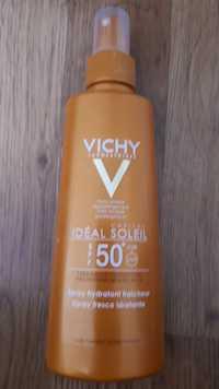 VICHY - Idéal soleil spray hydratant fraîcheur spf 50+