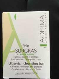 A-Derma - Pain surgras  à l'avoine rhealba