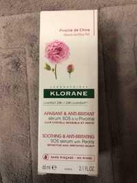 KLORANE - Pivoine de chine - Sérum SOS apaisant & anti-irritant