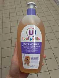 By U - Tout petits - Huile lavante protectrice et nourrissante