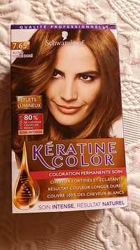 Soins a la keratine pour cheveux