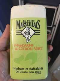 LE PETIT MARSEILLAIS - Mandarine & Citron vert - Gel douche