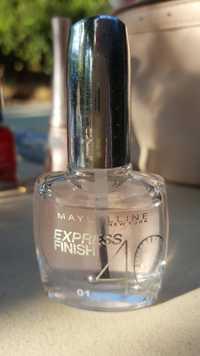 Maybelline - Express finish - Vernis séchage 01