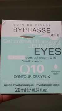 BYPHASSE - Q10 contour des yeux - Gel crème lift instant