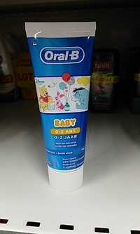 Oral-B - Dentifrice baby 0- 2 ans