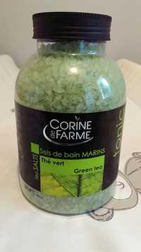 Corine de Farme - Thé vert - Sels de bain marins tonic