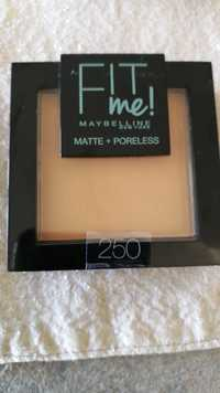 Maybelline - Fit me! - Matte + poreless 250