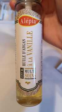 ALEPIA - Multi soins - Huile d'argan à la Vanille