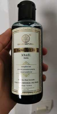KHADI NATURAL - Amla - Herbal hair oil