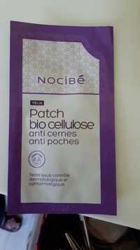NOCIBÉ - Patch bio cellulose - Anti-cernes anti-poches