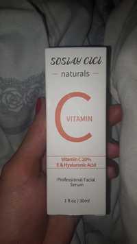 Soslay cici - Vitamin C - Professional facial serum