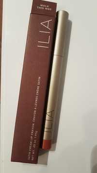 ILIA - Crayon à lèvres crème satin