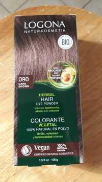 Logona - Colorante végétal 090 dark brown