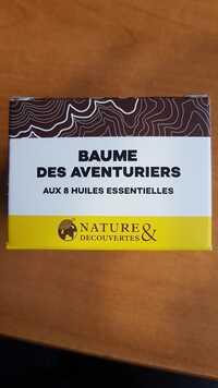 NATURE & DÉCOUVERTES - Baume des aventuriers aux 8 huiles essentielles