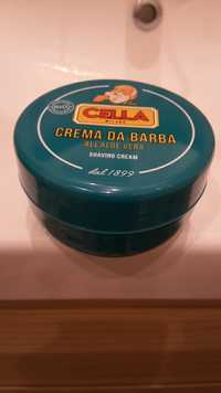 CELLA - Crema da barba all aloe vera bio