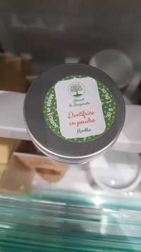 ECO-CONSEILS - Abricot & bergamote - Dentifrice an poudre menthe